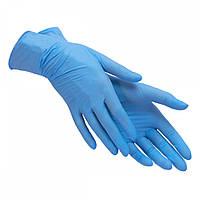 Перчатки Care365 L нитриловые синие 100 шт. Голубые (MAS40072)