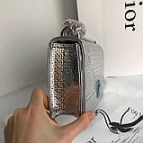 Сумка элегантная женская, кожаная, клатч  22 см, лаковая, фото 5