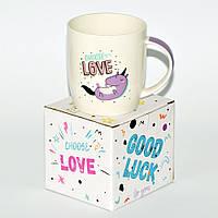 """Чашка """"Choose love"""" (фарфор 360 мл), фото 1"""