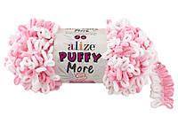 Alize Puffy More (Ализе Пуффи Морэ) № 6267 (пряжа, нитки для вязания руками)