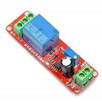 Модуль реле времени с таймером NE555 0-10 сек. 12В