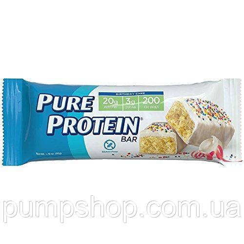 Протеиновые батончики Pure Protein Birthday Cake Bar 50 г