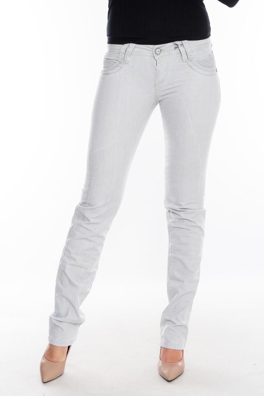 Женские джинсы OMAT 9656-832 серые
