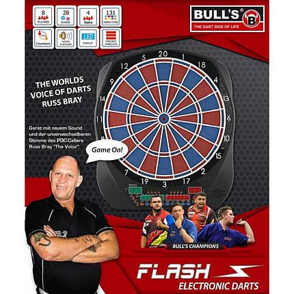 Дартс мишень электронная Flash RB Bull's Германия, фото 2