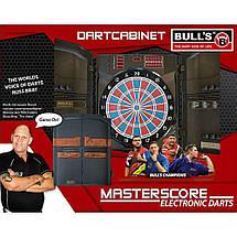 Дартс мишень электронная MastersScore RB Bull's Германия с кабинетом, фото 2