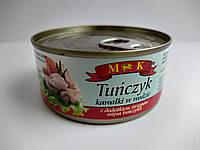 Тунец МK Tunczyk кусочками в воде 170 г, фото 1