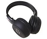 Наушники беспроводные Bluetooth HLV N65BT Black наушники с микрофоном, фото 2