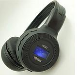 Наушники беспроводные Bluetooth HLV N65BT Black наушники с микрофоном, фото 5