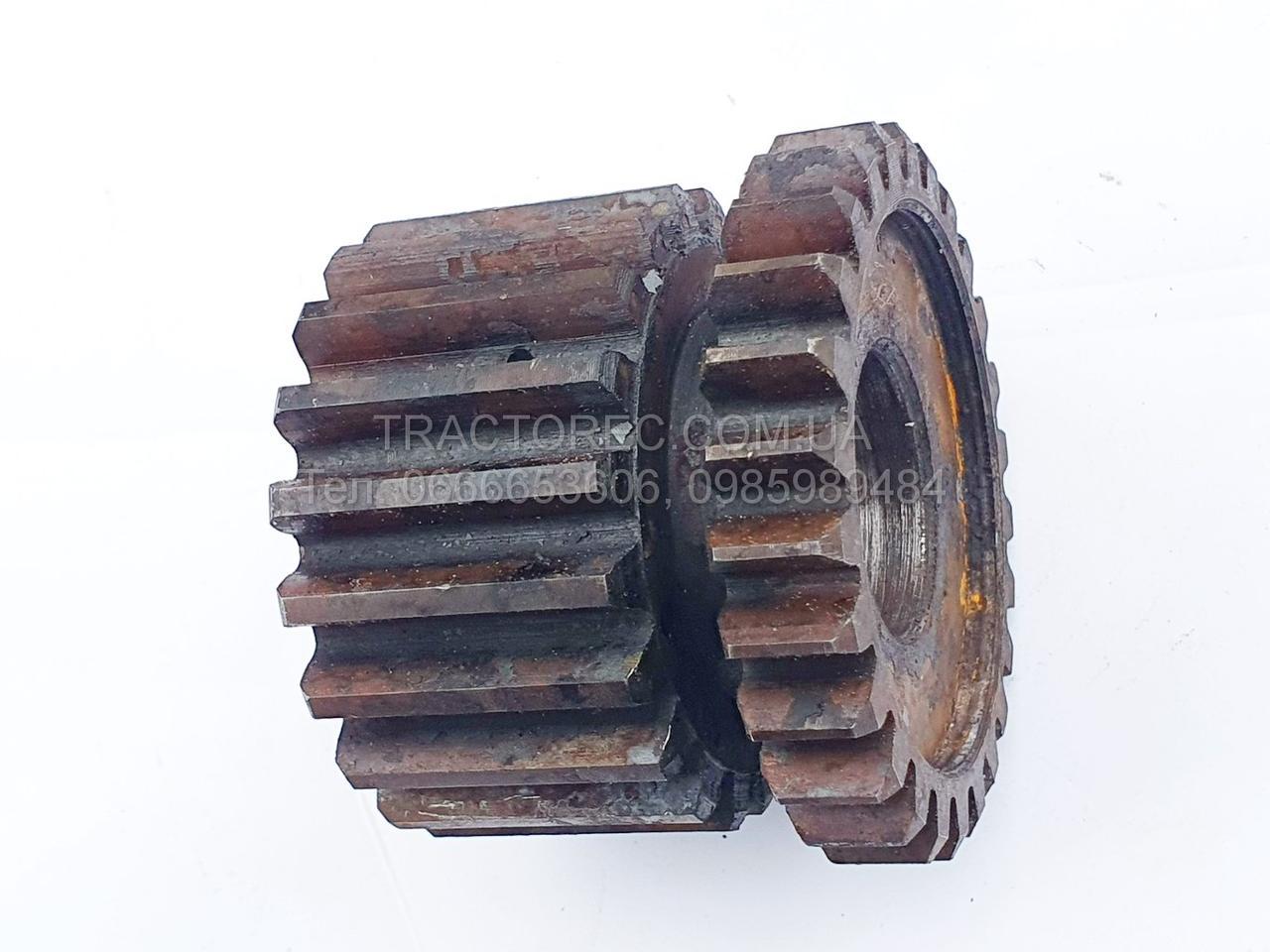 Шестерня ведомая повышающая для коробки передач мототракторов Z-20, Z-26 (Z-20/26) БУЛАТ, ЗУБР, и т.п.