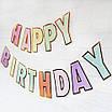 """Бумажная гирлянда """"Happy Birthday"""", фото 6"""