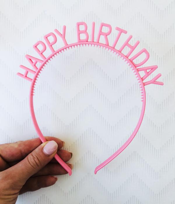 "Аксессуар для волос-обруч ""Happy Birthday"""