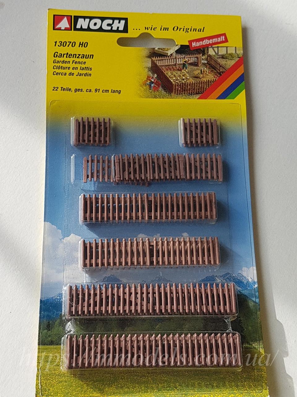 Комплект разных садовой изгороди для моделирования макета, масштаба H0, 1/87 Noch 13070