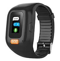 Часы GPS-трекер для пожилых людей Smart Band S3M с пульсометром, двухсторонним голосовым вызовом, сигналом SOS