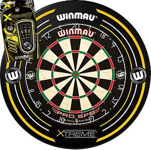Дартс набор мишень из сизаля Winmau Англия + защита + дротики Xtreme