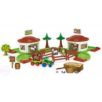 Игровой набор ранчо wader 53410 kid cars 3d