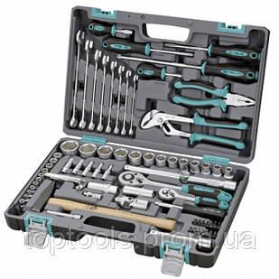 Набор инструмента в машину 76 предметов Stels 14104