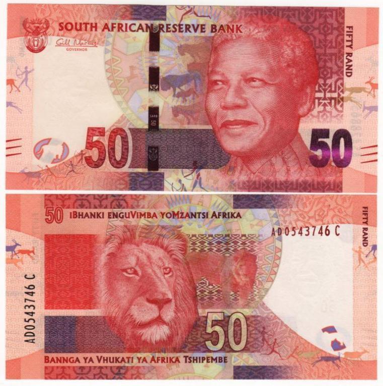 Південна Африка (ПАР) / South Africa 50 rand 2012 UNC