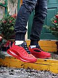 Мужские кроссовки Nike Air Max 720 в стиле найк аир макс КРАСНЫЕ (Реплика ААА+), фото 2