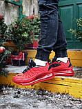 Мужские кроссовки Nike Air Max 720 в стиле найк аир макс КРАСНЫЕ (Реплика ААА+), фото 3