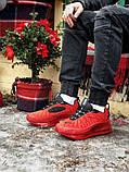 Мужские кроссовки Nike Air Max 720 в стиле найк аир макс КРАСНЫЕ (Реплика ААА+), фото 5