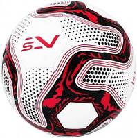 Мяч футбольный SportVida бело-черный Size 5 SV-PA0025-1 SKL41-249475
