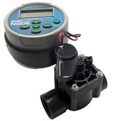 Программатор для полива автономный Hunter NODE-100-VALVE-В (одна зона с клапаном PGV-101G-B)