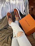 Кроссовки женские Louis Vuitton Escale в стиле луи витон НА МЕХУ (Реплика ААА+), фото 6