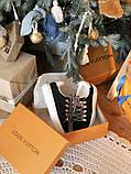 Кросівки жіночі Louis Vuitton Escale в стилі луї вітон НА ХУТРІ (Репліка ААА+), фото 5