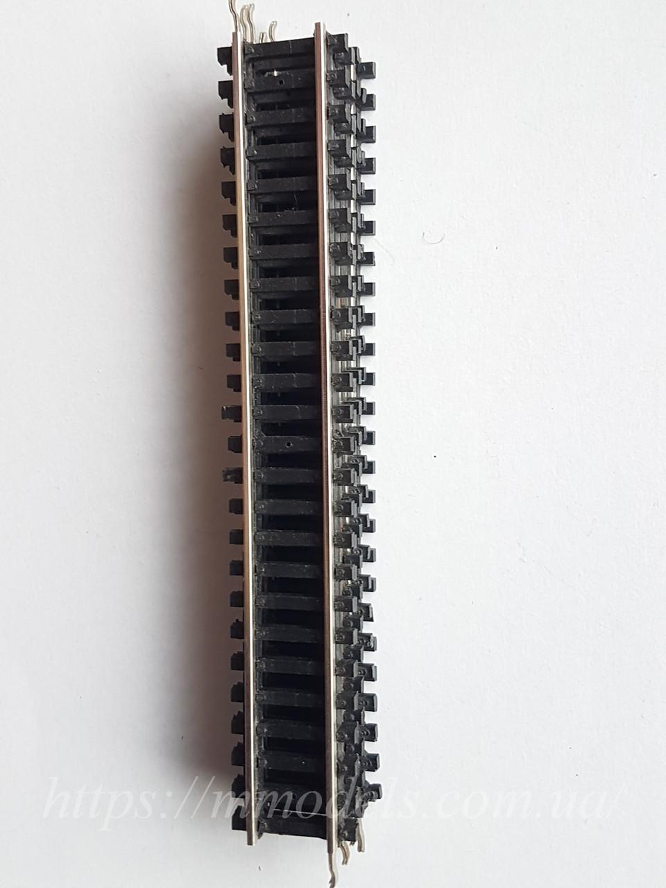PIKO GDR Рельсовый материал П - образные прямые рельсы комплект 5штук + 3 в подарок, масштаба H0, 1:87