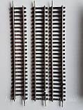 PIKO GDR Рельсовый материал П - образные прямые рельсы комплект 5штук + 3 в подарок, масштаба H0, 1:87, фото 2