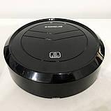 Автоматический Робот-пылесос умный пылесос на аккумуляторе Ximei Mop. Цвет: черный, фото 9