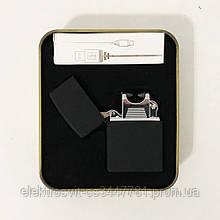 Зажигалка импульсная NB USB-215. Цвет: черный