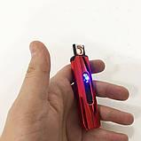 Зажигалка электрическая. Цвет: красный, фото 6