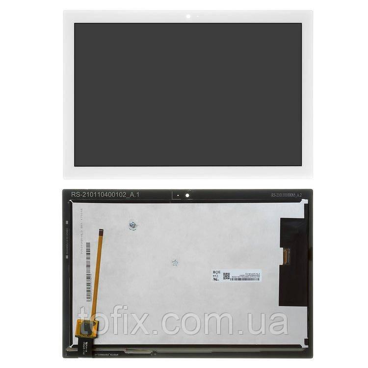 """Дисплей для Lenovo Tab 4 10.0"""" TB-X304L, X304F, X304N, модуль в сборе (экран и сенсор), белый, оригинал"""