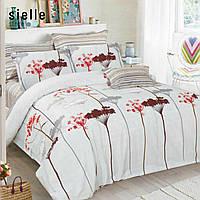 """""""Зонтики"""" семейный комплект постельного белья из египетского хлопка. Постельное белье из сатина"""