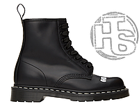 Зимние женские ботинки Dr. Martens 1460 Sex Pistols Black Rolled Smooth 25927001