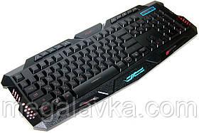 Клавиатура игровая проводная с подсветкой ENG/RU Atlanfa AT-M200P