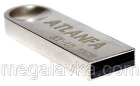 Флешка з отвором для ключів 32Gb 2.0 ATLANFA AT-U3 USB флеш накопичувач
