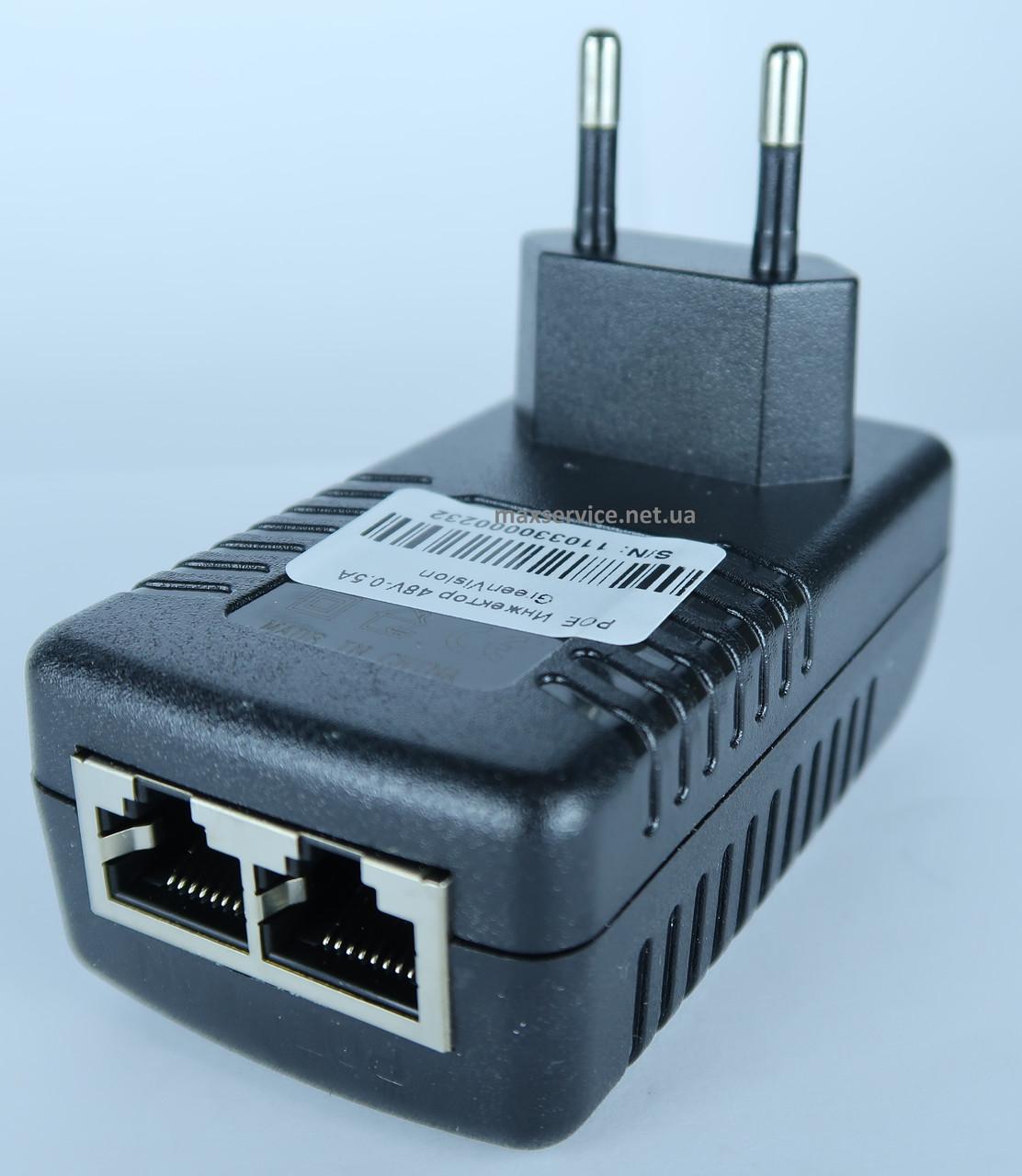 POE инжектор 48V - 0.5A