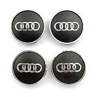 Колпачки в диски AUDI, Заглушки для дисков Ауди 60/55мм (4шт)
