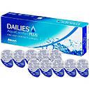 Акция 30+10  Dailies Aqua Comfort plus 1уп(30шт), фото 4