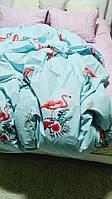 Постельное белье евро размера-испанский фламинго