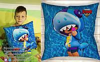 Подушка леон акула