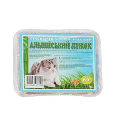 Трава для котів Альпійський лужок 80г Фауна