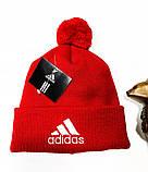 Шапка Adidas classic red, фото 2