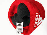 Шапка Adidas classic red, фото 3