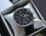 Мужской подарочный набор Tommy Hilfiger часы и ремень total black, фото 6