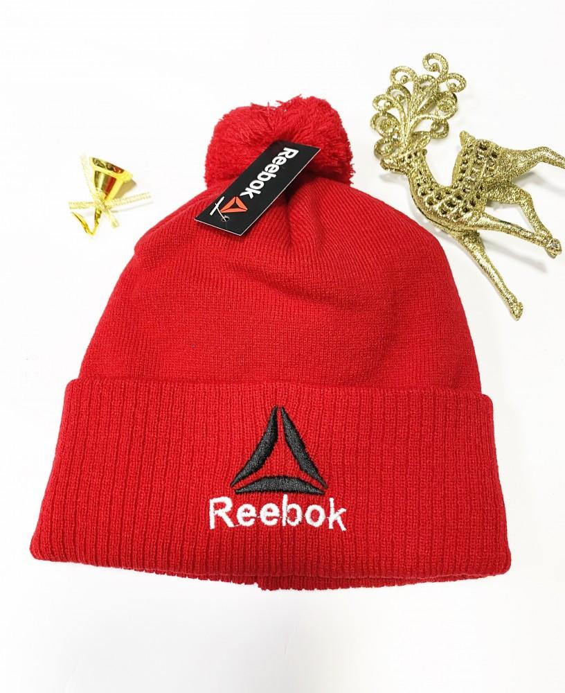 Шапка Reebok classic red