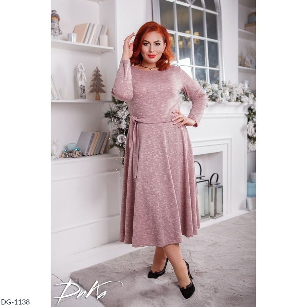 Платье в больших размерах (DG-ак 0528)