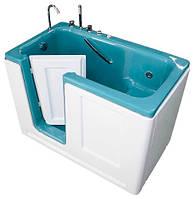 """Бальнеологическая сидячая ванна """"Комфорт"""" ВБ-02 с боковой дверью и системой гидромассажа (8 водных форсунок)"""